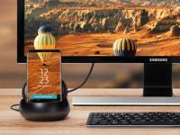 三星S9配件升级 DeX Pad令手机秒变电脑