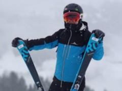 雷军春节晒滑雪照 不忘为米家滑雪装备代言