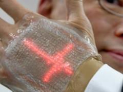 可拉伸145% 日本研发成功柔性LED健康显示屏