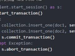 MongoDB4.0支持多文档ACID事务意味着什么?