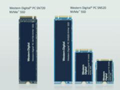 极速读写 西部数据发布SN720/520固态盘