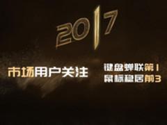 2017雷柏市场排名-国产键鼠品牌双料第1