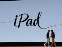 苹果发布9.7英寸iPad 学生购买仅299美元