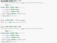 RadonDB用户使用手册――所支持的SQL集