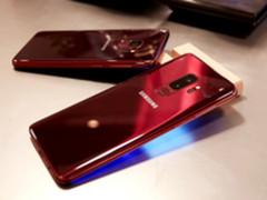 三星S9系列勃艮第红天猫开售 购机尽享好礼