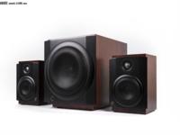 桌面影音神器HiVi惠威M-80W无线有源2.1音响