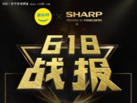 3分钟冲破亿元 夏普618成最受欢迎电视品牌