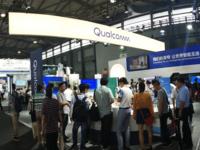 能视频的小天才电话手表Z5亮相2018MWC上海