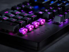 首用光学轴体 雷蛇发布猎魂光蛛机械键盘
