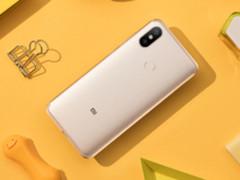 小米6X海外版A2手机曝光 采用原生安卓系统