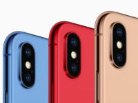 告别黑白灰 传廉价版iPhone X将提供5种配色