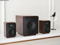 桌面影音新选择 惠威M-80W有源2.1音响评测